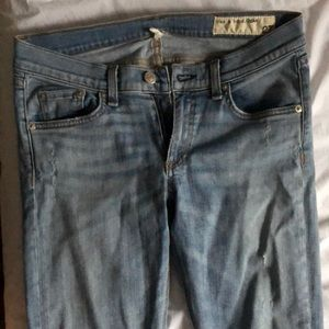 Rag and Bone blue jeans